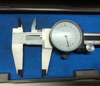 Calibre reloj centesimal Mitutoyo