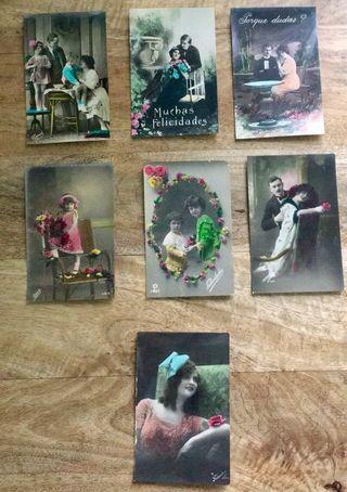 Fotopostales románticas sin circular