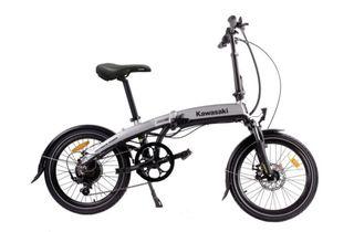 Bicicleta eléctrica KAWASAKI FOLDING 20