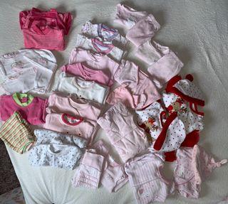 Lote pijamas niña recién nacida hasta 3 meses