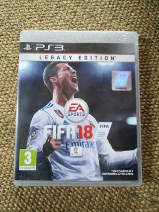 Fifa 18 Play Station 3 (ps3)