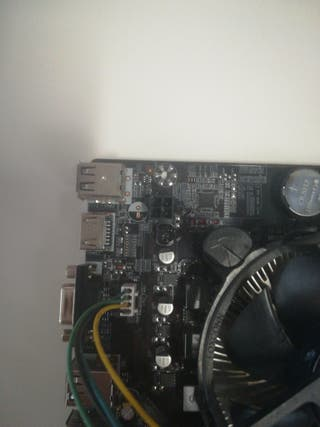 Placa base Intel H61 Procesador Intel Pentium G860