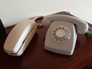 Teléfonos vintage malagueños