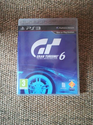 Gran Turismo 6 Ps3, Play Station 3