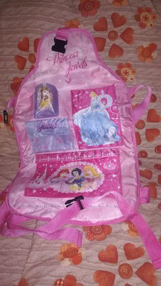 organizador asiento Princesas Disney