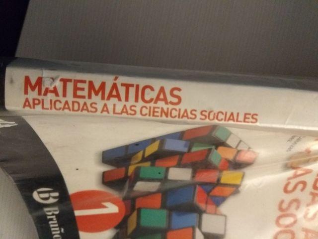 Matemáticas aplicadas a las c. sociales 1BACh.