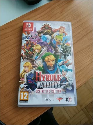 Zelda Hyrule Warriors Definitive Edition Switch