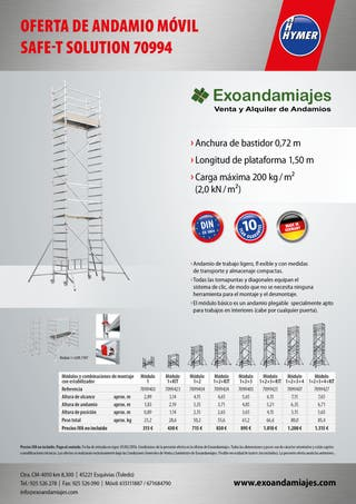 torre movil andamio