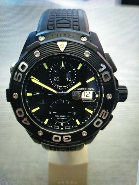 Reloj Tag Heuer Aquaracer 500M.