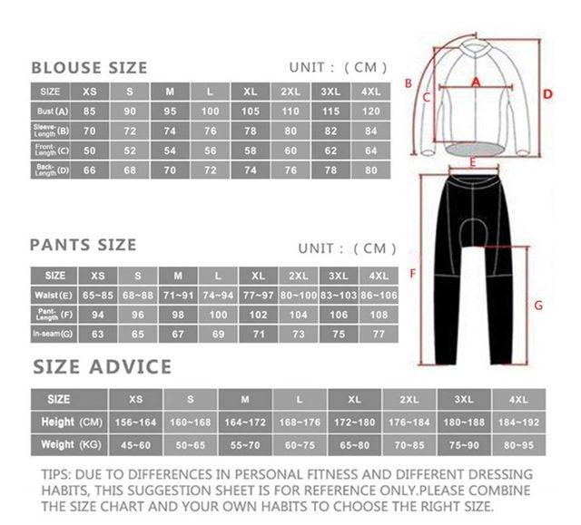 Ciclismo Maillot + Pantalones , 2XL,