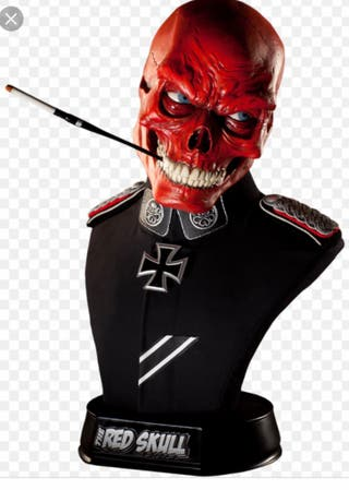 Busto 1:1 Red Skull Sideshow
