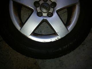 rueda recambio audi cubierta nueva