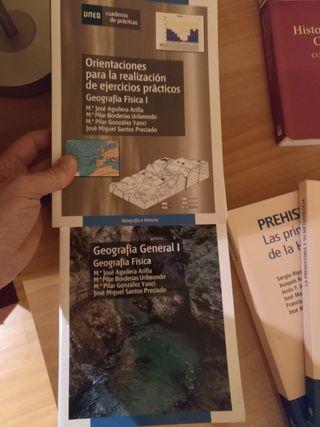 libros grado UNED geografia