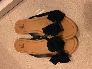Sandalias de lazo