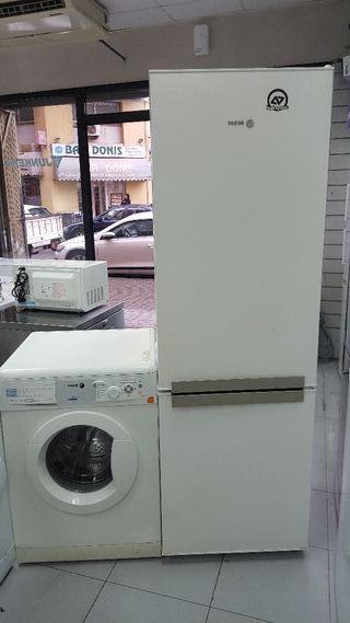 pack nevera + lavadora con grantia