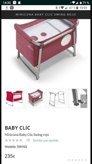 minicuna baby clic swing