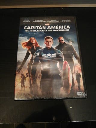 Capitan America el soldado de invierno dvd Nuevo