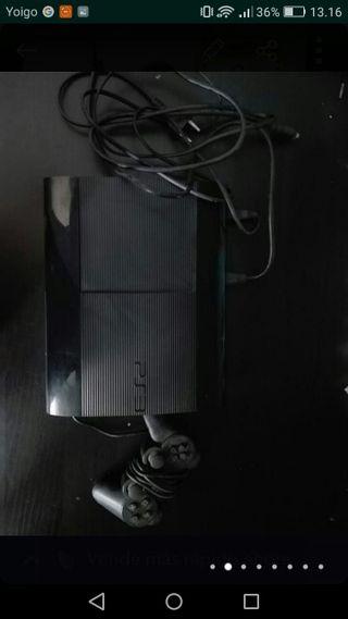 PS3 500GB + 2 MANDOS + 6 JUEGOS