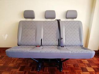 asientos 3 plazas t5 vw
