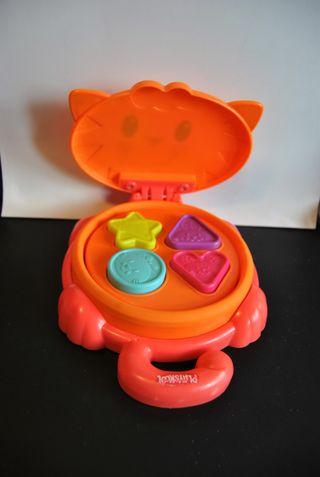 Juguete infantil Gatito con formas