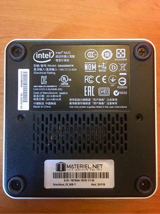 PC ordinateur Intel® NUC D54250WYK