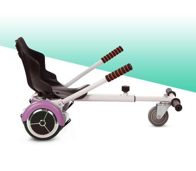"Hoverboard patinete 6,5"" + kart silla nuevo"