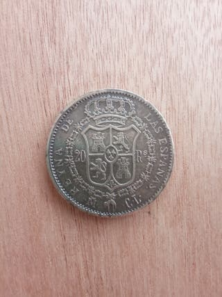 moneda Isabel II 1837