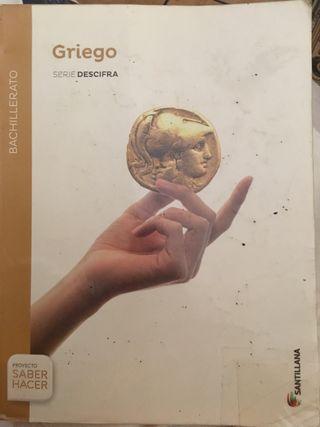 Griego Serie Descifra SANTILLANA
