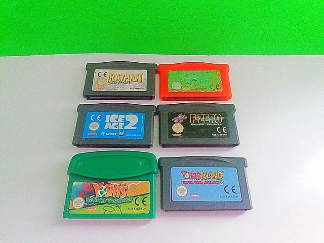 Game Boy Advance Juegos