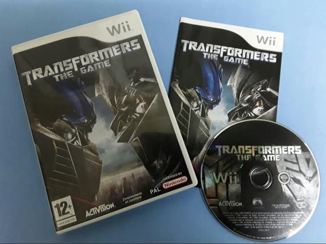 Wii - Transformers the game