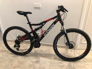 Bicicleta MTB rockrider 520s doble suspensión