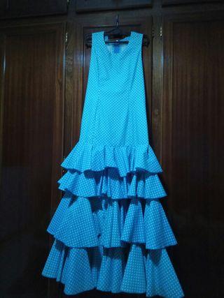 Traje de Flamenca de niña. Talla 14