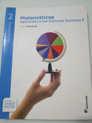 2Bachiller Matemáticas sociales