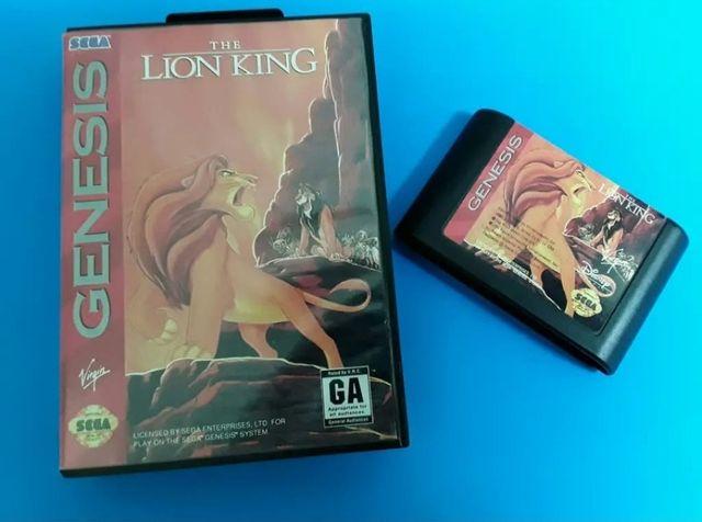 Sega Mega Drive (Genesis) - El Rey Leon