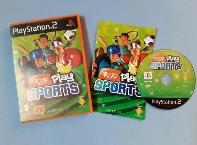 Ps2 - Eye toy play sport