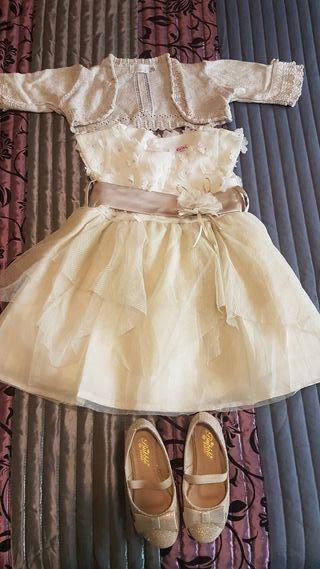vestido niña para evento 3-4 años