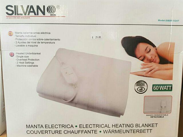 Manta Electrica 150 X 80.Manta Electrica Calienta Camas 150 X 80 Cm De Segunda Mano