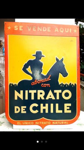 Chapa Nitrato de Chile.