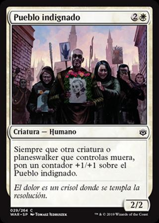 Pueblo indignado - MTG - CARTAS MAGIC - X2