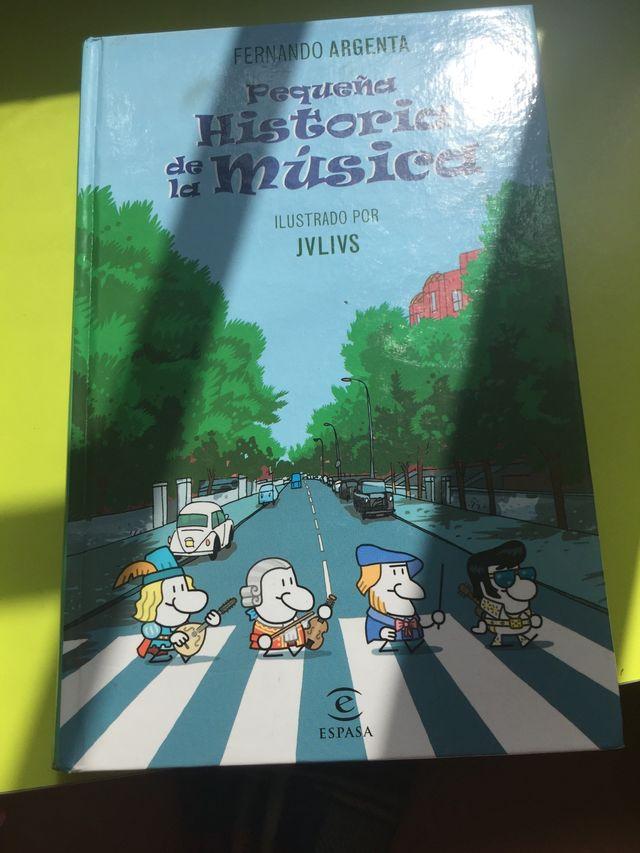 Libro - pequeña historia de la música-