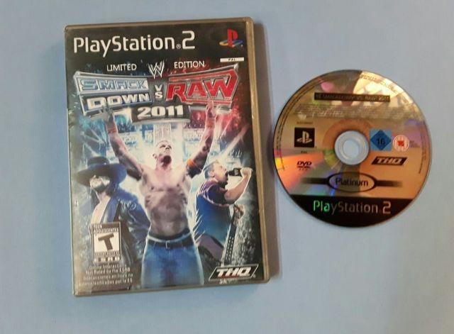 Ps2 - Smack daw vs raw 2011