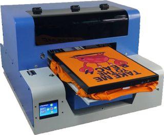 Impresora textil para camisetas y más