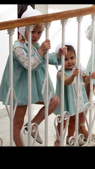 Coordinado niño y niña ceremonia