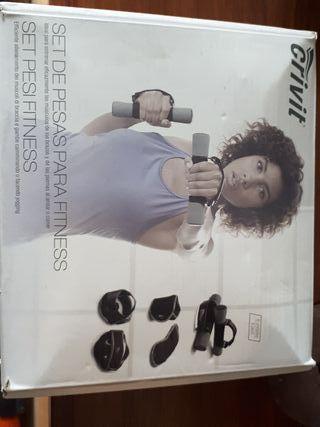 Set de pesas para fitness
