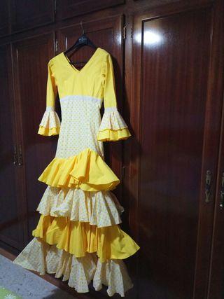 Traje de Flamenca Niña Talla 10/12