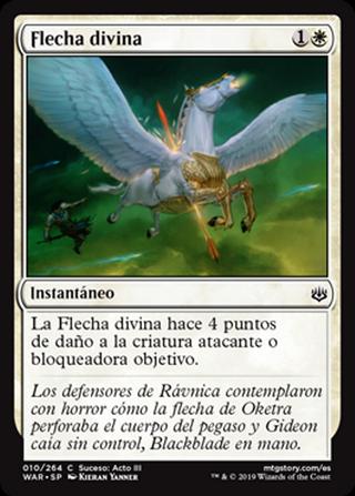 Flecha divina - MTG - CARTAS MAGIC - X4