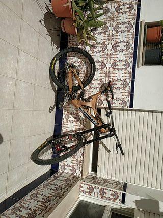 cambio por bici de montaña