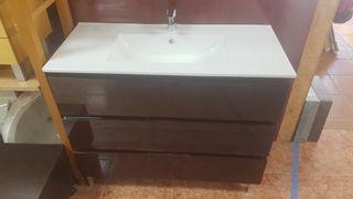 Mueble de baño 100x45 Mod N014