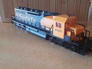Locomotora H0 Santa Fé
