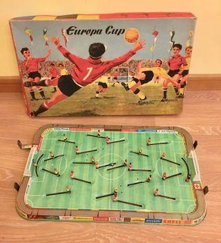 lote juguetes Futbolín años 60